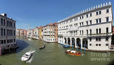 Photograph - Grand Canal Venice 1 by Rudi Prott