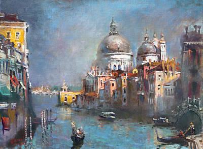 Grand Canal Venice 2 Original by Ylli Haruni