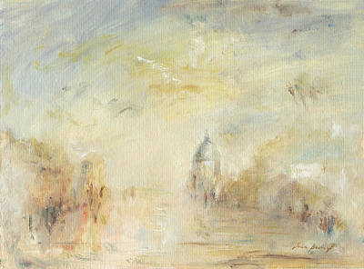 Abstract Landscape Painting - Grand Canal Venice by Juan Bosco