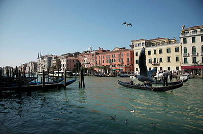 Photograph - Grand Canal Venice by Louise Fahy