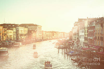 Photograph - Grand Canal Venice by Patricia Hofmeester