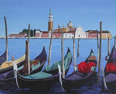 Grand Canal Venice Original by Tony Gunning