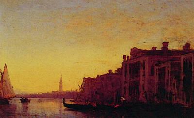 Digital Art - Grand Canal Venice by Ziem