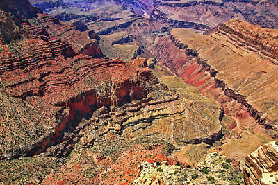 Photograph - Grand Canyon # 10 - Navajo Point by Allen Beatty