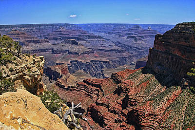 Photograph - Grand Canyon # 14 - Mohave Point by Allen Beatty