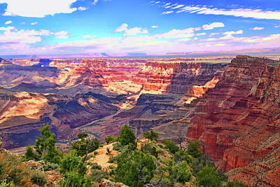 Photograph - Grand Canyon # 15 - Desert View by Allen Beatty