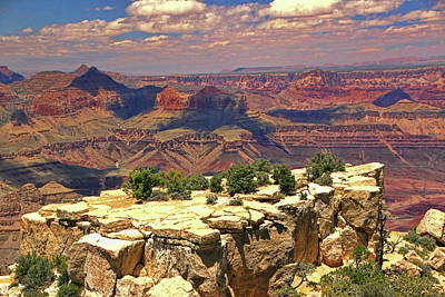 Photograph - Grand Canyon # 17 - Navajo Point by Allen Beatty