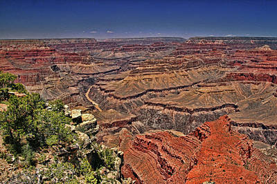 Photograph - Grand Canyon # 19 - Mohave Point by Allen Beatty