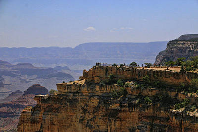Photograph - Grand Canyon # 27 - Powell Point  by Allen Beatty