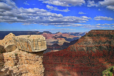 Photograph - Grand Canyon # 29 - Mather Point Overlook by Allen Beatty