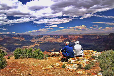 Photograph - Grand Canyon # 32 - Desert View by Allen Beatty