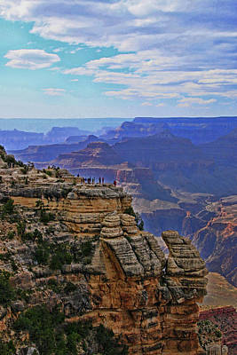 Photograph - Grand Canyon   # 45 - Mather Point Overlook by Allen Beatty