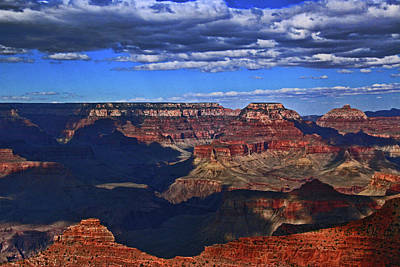 Photograph - Grand Canyon   # 47 - Mather Point Overlook by Allen Beatty
