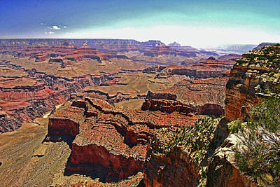 Photograph - Grand Canyon # 6 - Hopi Point by Allen Beatty
