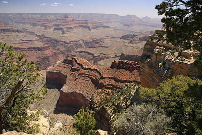 Photograph - Grand Canyon # 9 - Powell Point by Allen Beatty