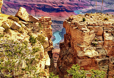 Photograph - Grand Canyon 018 by George Bostian