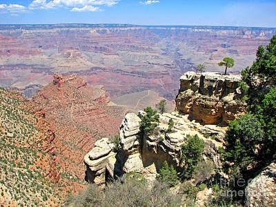 Sk Stones Photograph - Grand Canyon-1 by Sabrina K Wheeler