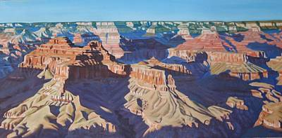 Painting - Grand Canyon 2 by Allen Kerns