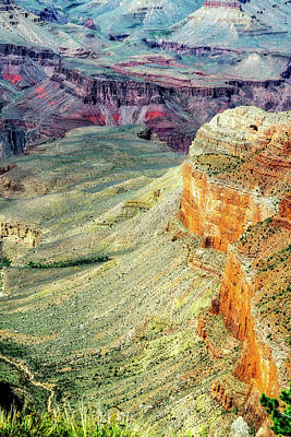 Photograph - Grand Canyon Abstract by Robert FERD Frank