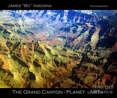 Photograph - Grand Canyon Aerial View by James BO Insogna