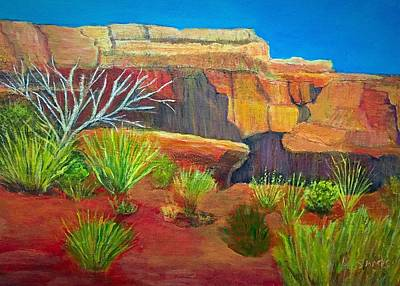Painting - Grand Canyon by Anne Sands