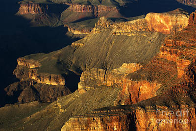 Photograph - Grand Canyon Arizona Light And Shadow 1 by Bob Christopher