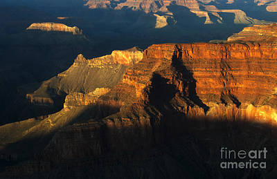 Photograph - Grand Canyon Arizona Light And Shadow 2 by Bob Christopher