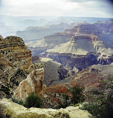 Photograph - Grand Canyon Arizona Fine Art Photograph In Color 3539.02 by M K Miller