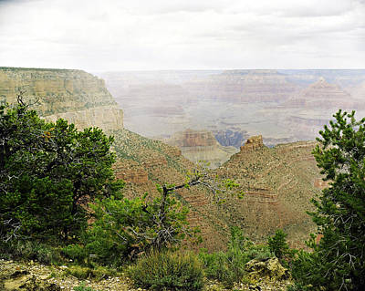 Photograph - Grand Canyon Arizona Fine Art Photograph In Color 3544.02 by M K Miller