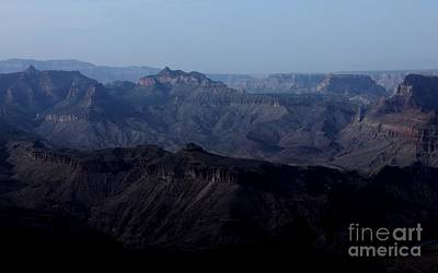 Grand Canyon At Dusk Art Print by Erica Hanel