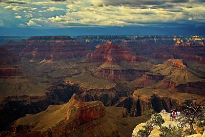 Photograph - Grand Canyon At Powell Point by Levin Rodriguez