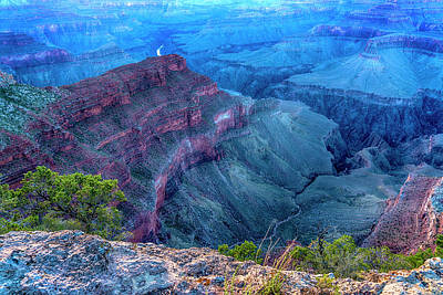 Photograph - Grand Canyon At Sunset 7r2_dsc1906_08142017 by Greg Kluempers