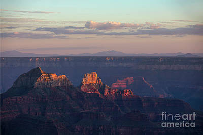 Photograph - Grand Canyon At Sunset by Diane Diederich
