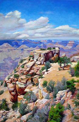 Painting - Grand Canyon Blocks by Marsha Savage