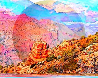 Digital Art - Grand Canyon By Nico Bielow by Nico Bielow