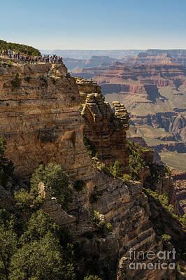 Grand Canyon Crowds Art Print