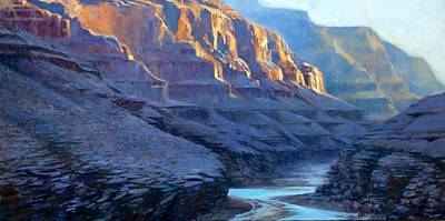 Grand Canyon Dawns Art Print