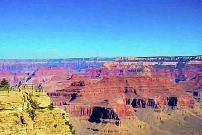 Digital Art - Grand Canyon Digital Painting by Randy Herring