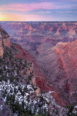 Photograph - Grand Canyon Dusk 1 by Greg Nyquist