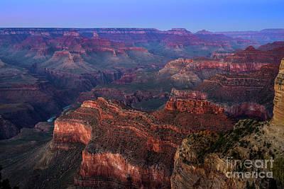 Grand Canyon Dusk Art Print