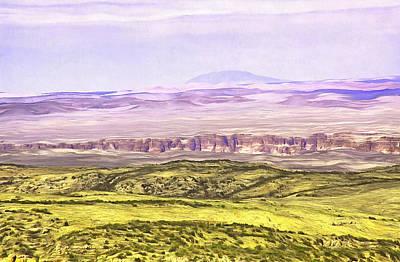 Digital Art - Grand Canyon Eastern Part by Viktor Savchenko