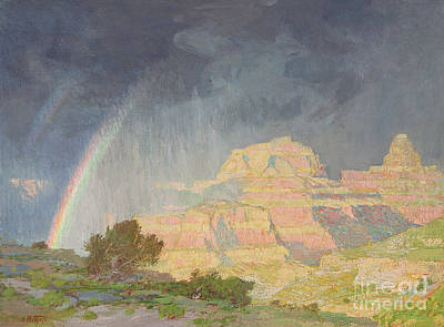 Cloud Formations Painting - Grand Canyon by Edward Henry Potthast