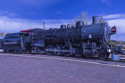 Photograph - Grand Canyon Engine 539 by Garry Gay