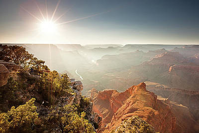 Photograph - Grand Canyon From Mohave Point by Whit Richardson