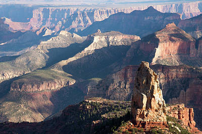 Photograph - Grand Canyon From The North Rim by Frank Madia