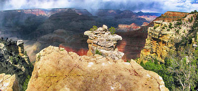 Photograph - Grand Canyon I by C H Apperson