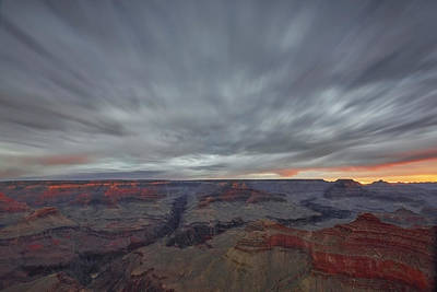 Photograph - Grand Canyon In Motion by Jon Glaser