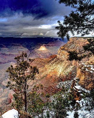 Photograph - Grand Canyon In Winter by Jim DeLillo