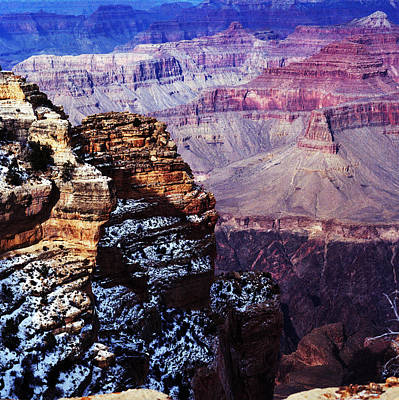 Photograph - Grand Canyon In Winter by Paul Ross