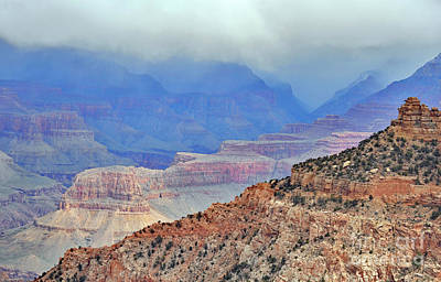 Grand Canyon Levels Art Print